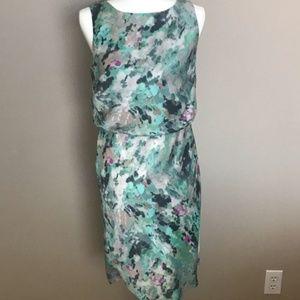 Ann Taylor Watercolor Sleeveless knee length Dress
